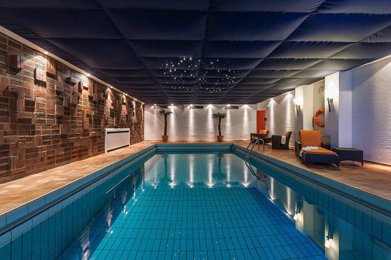 Swimming pool and Sauna